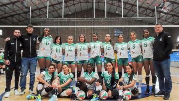 Quindío debutó con derrota en liga profesional de voleibol