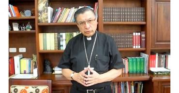Presidente de la Conferencia Episcopal es hospitalizado por covid