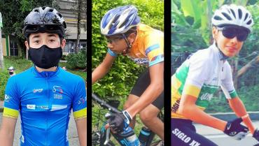 Esteban, Josué y Diego, los ciclistas quindianos en fase 4 del PAD