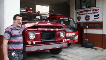 Cerca de $1.500 millones ha invertido  dirección nacional de bomberos en el Quindío