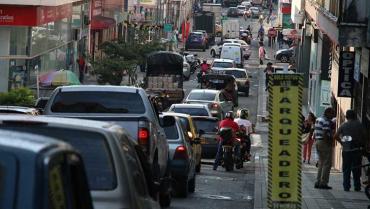 En casi toda la ciudad, se superan los niveles de contaminación de ruido