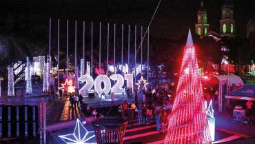 2020: el año con mayor inversión para el alumbrado navideño del Quindío