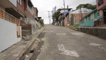 Ciudadano sobrevivió a 5 puñaladas que sufrió en el barrio Santafé de Armenia