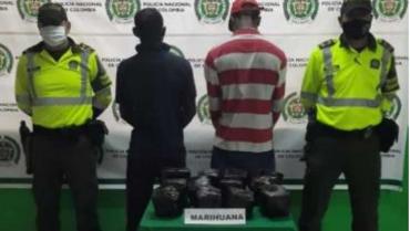 Incautaron marihuana a 2  polizones: 3 casos en un mes