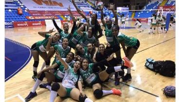 Uniquindío superó a Uniantioquia por la superliga de voleibol
