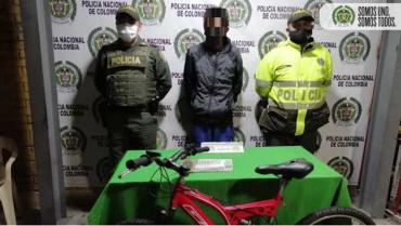 Capturado hombre que  entró a  robar una bicicleta