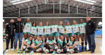 Uniquindío derrotó a la invicta UDCA por la superliga de voleibol