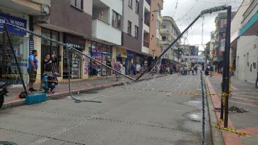Alcalde de Calarcá lamentó daños en alumbrado navideño