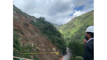 Desde este miércoles se amplía cierre de la vía Calarcá - Cajamarca