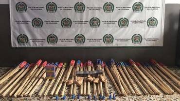Autoridades incautaron más de 1.000  productos de pólvora en Armenia y Calarcá