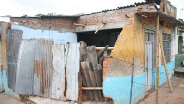 Los daños en la casa de José Reinel están avaluados en más de $109 millones
