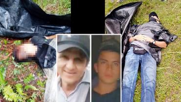 2 quindianos, padre e hijo, asesinados  en Cauca por un grupo armado