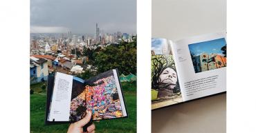 La explosión del arte urbano de Colombia pasa de las calles al papel