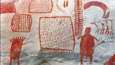 Chiribiquete y la Piedra del Indio,  lugares arqueológicos de Colombia y el Quindío para la mención del arte rupestre