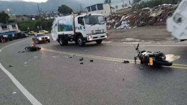 3 heridos dejó accidente de tránsito en Calarcá