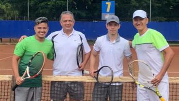 Lemus-López, campeones del torneo de equipos  de tenis en el Bolo Club