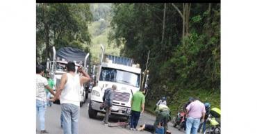 Adolescente sufrió grave accidente de tránsito en La Línea