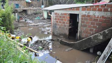 Asentamientos subnormales, los más afectados con las lluvias en Armenia