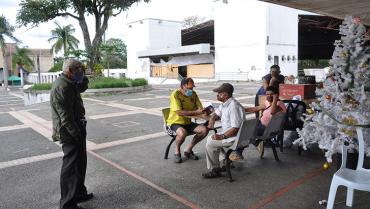 Reubicados los residentes de Cenexpo;  centro de atención para el próximo año