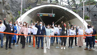 Megaobra del túnel de La Línea empezó a operar en 2020