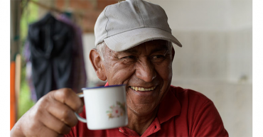 Don David,  un andariego guiado por el café