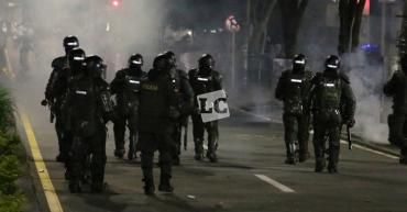 Gobierno traza límites a intervención de la Policía en protestas