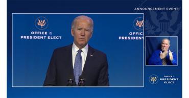 Biden llama 'terroristas domésticos' a los asaltantes del Congreso