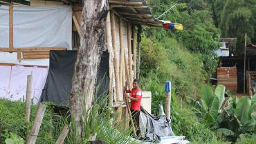 Lluvias amenazan un sector del Guayaquil