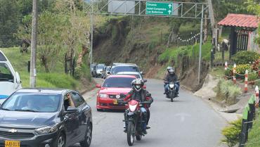 2 puestos de control en vías de acceso tendrá Salento para puente festivo