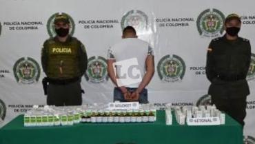 Incautada ketamina, sustancia para fabricar cocaína rosada