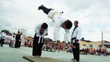 Hapkidocas se preparan para Juegos Deportivos Nacionales