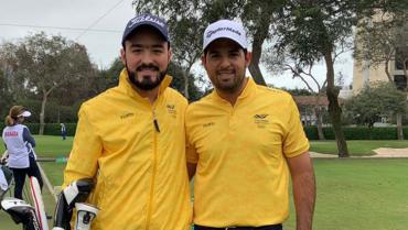 Quindiano Santiago Gómez, figura del golf a nivel nacional e internacional