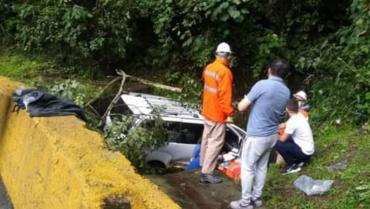 Exceso de velocidad sería la causa del accidente de tránsito en vía a La Línea