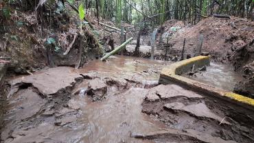 Una vía ilegal estaría afectando calidad del agua en vereda El Agrado