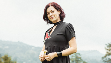 Alexa Helimet Cortés, la soprano quindiana que encontró su tono de vida en Medellín