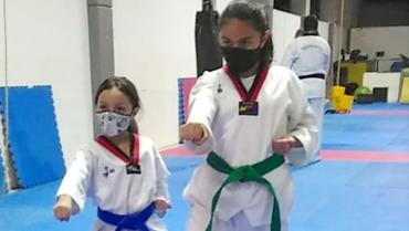 Liga de taekwondo se mantiene activa en sus entrenamientos
