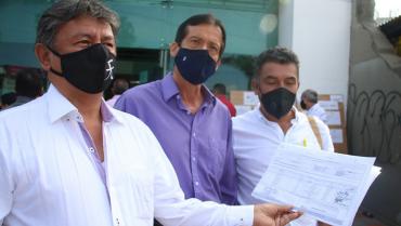Radican comité de revocatoria para el mandato de José Manuel Ríos Morales