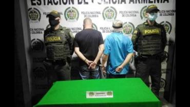 2 capturados por herir a un hombre con arma blanca