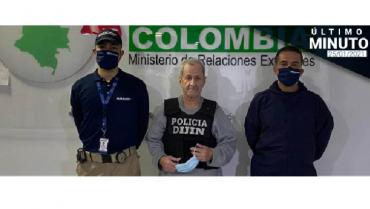 El exjefe paramilitar Hernán Giraldo llega a Colombia deportado de EE.UU.