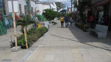 Paseo El Edén en La Tebaida estaría terminado en 2 meses