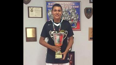Miguel Lozada González,  quindiano promesa del baloncesto
