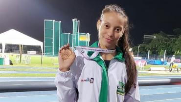 Yeimy Tatiana Echeverry Betancur, una atleta de alto rendimiento