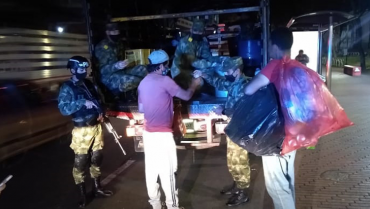 Con operación  Mayor San Roque se dio alimentación a  habitantes de calle