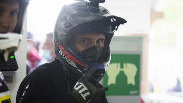 Jhony Betancurth Díaz, segundo en competencia internacional de downhill