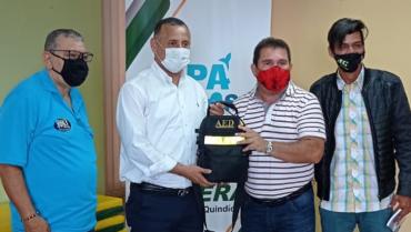 Desfibrilador fue donado al  Instituto Municipal del Deporte y la Recreación de Armenia