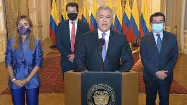 Colombia recibirá este lunes el primer lote de 50.000 vacunas de Pfizer