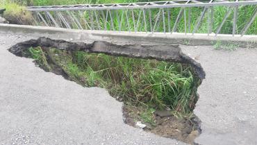 Iniciarán obras en Jardín de la Fachada, por adjudicar reparación en la glorieta Malibú-Portal de Pinares