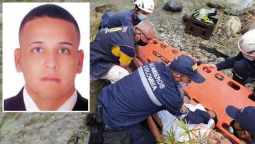 Salto mortal al río Santo Domingo cobró la vida de un hombre de 24 años de edad