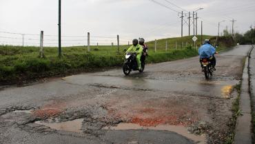 Piden que obras en vía Montenegro- Circasia tenga mano de obra local