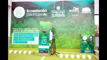 El Quindío ya tiene la primera estación de carga rápida para vehículos eléctricos